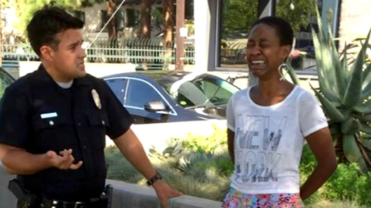 actress daniele watts detained lapd