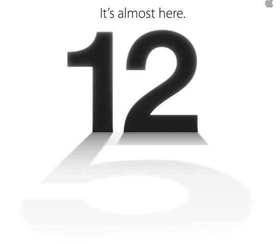 Apple iPhone5 Invite