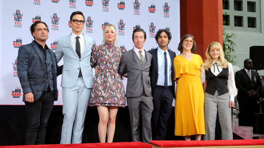 "The Cast of ""The Big Bang Theory"" Hand and Footprint Ceremony"