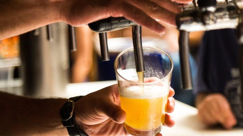 Taste Beers at a Craft Brewery