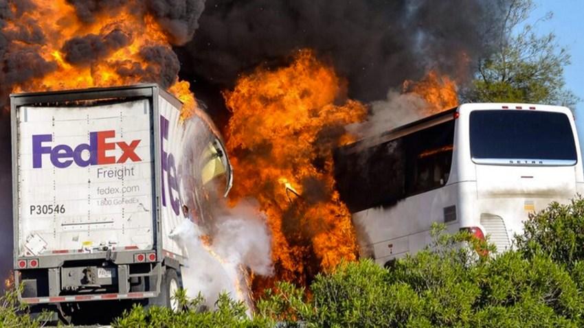 California Bus Crash