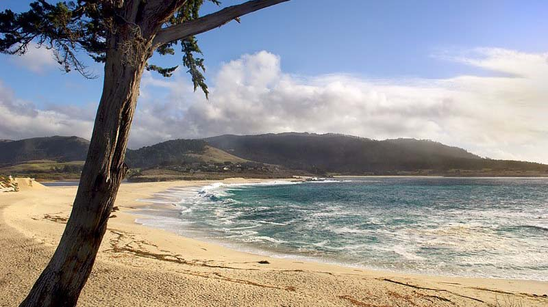 An image of Carmel River State Beach