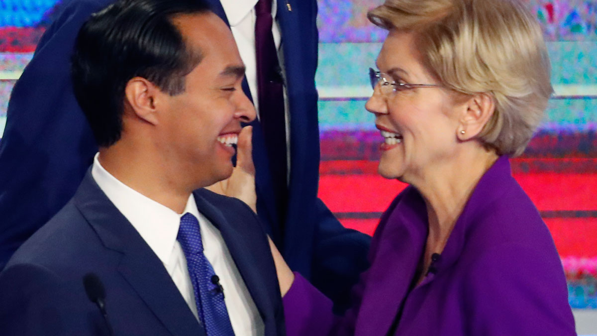Julián Castro Endorses Elizabeth Warren in Presidential Race 1