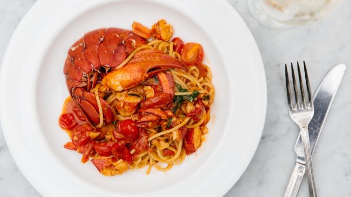 cecconilobster spaghetti
