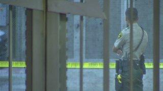 [STRINGER STILL] central jail death investigation stringer central jail generic sdpd officer