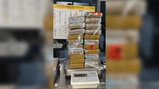 stack of cocaine siezed from man in san clemente