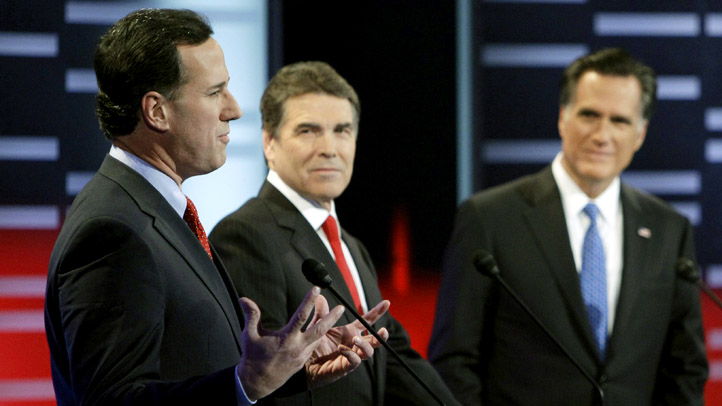 Santorum - Perry - Romney