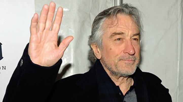 deniro hand waving