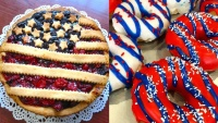 Find Patriotic Pie and Doughnuts for the Fourth