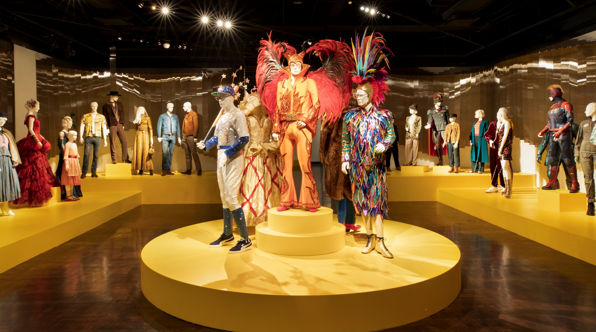 100 Dazzling Film Costumes Go On Free View Nbc Los Angeles