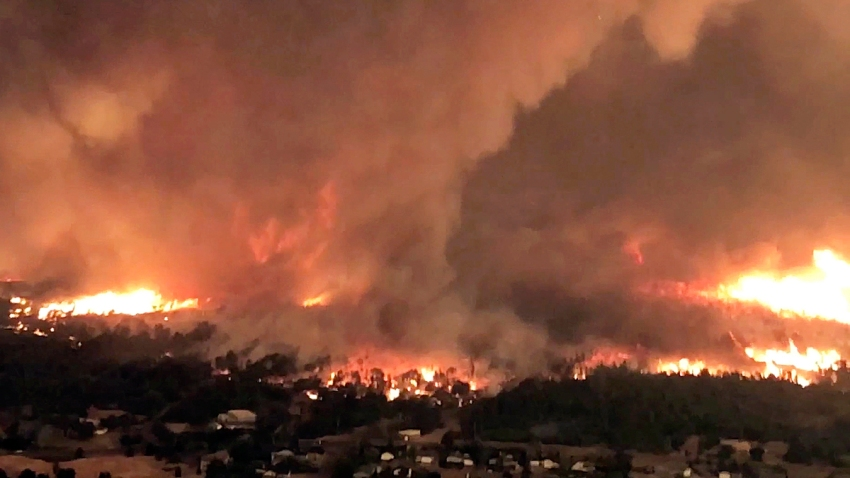 California Wildfire Fire Tornado