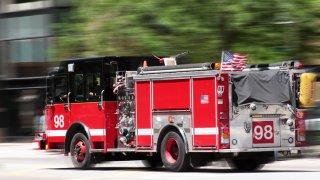fire truck firetruck generic