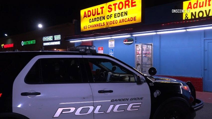 Adult Bookstore Clerk Hit With Gun During Garden Grove Robbery