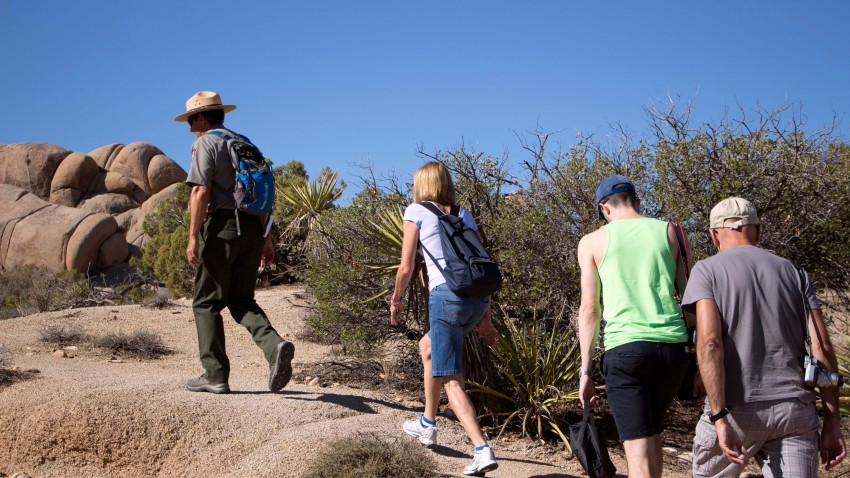 guided hiking tour
