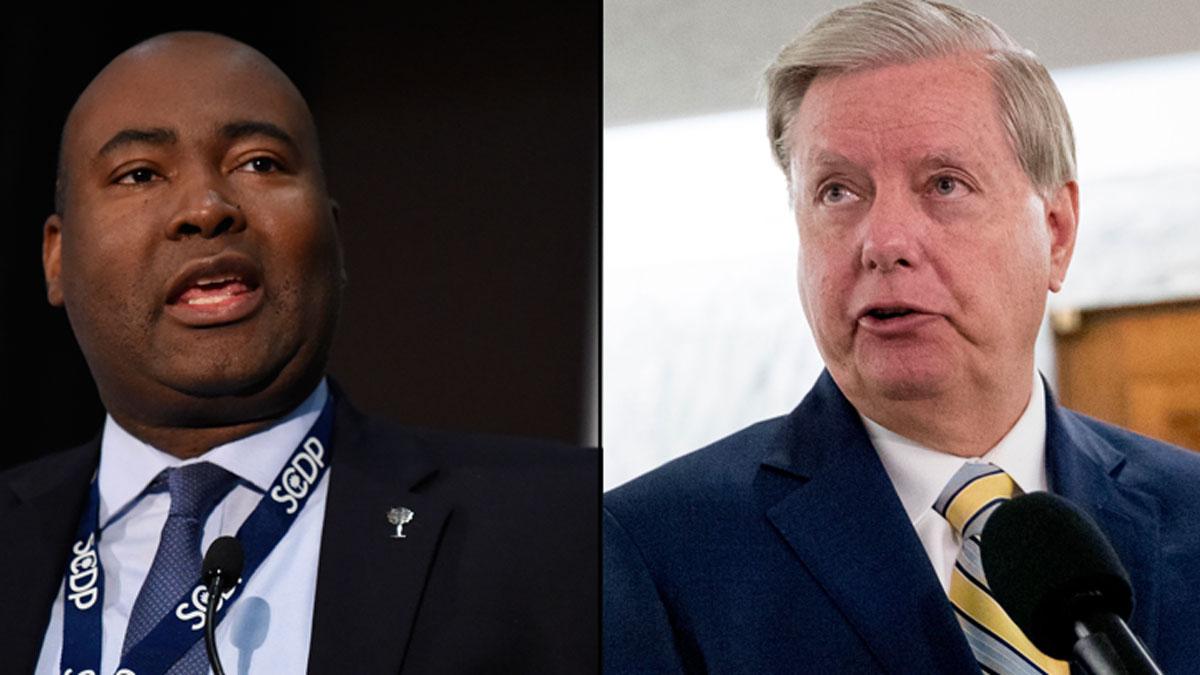 Primary Over, Harrison Challenges Sen. Graham to Debates 1