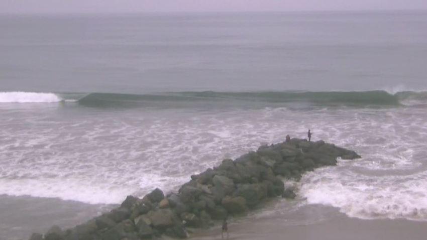 high surf warning socal beaches