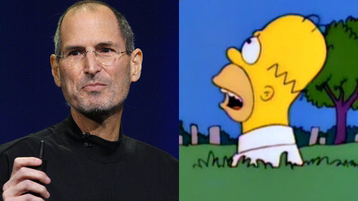 Homer Simpson Steve Jobs