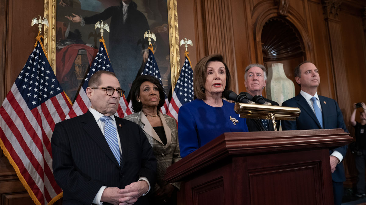 Congress Reacts to Iran Attack on US Forces. Pelosi Says 'World Cannot Afford War' 1