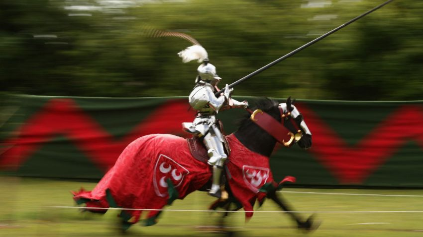 jousting getty