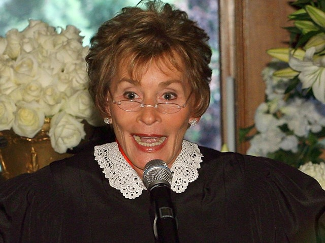 A file photo of Judge Judy