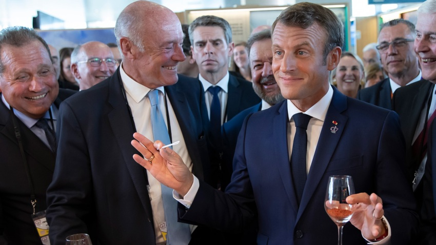 APTOPIX France G7 Summit