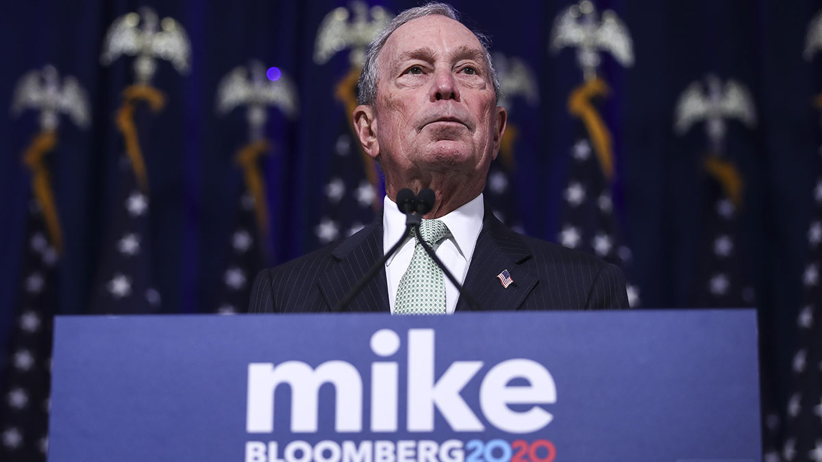 Trump Vs. Bloomberg: Fortunes Collide in Pricey Knife Fight 1