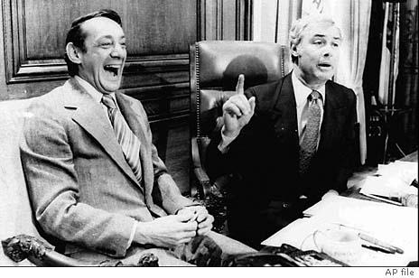 Harvey Milk and George Moscone