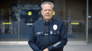 LAPD Chief in CV message