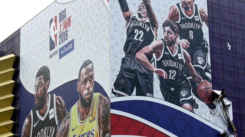 APTOPIX China NBA Relationship