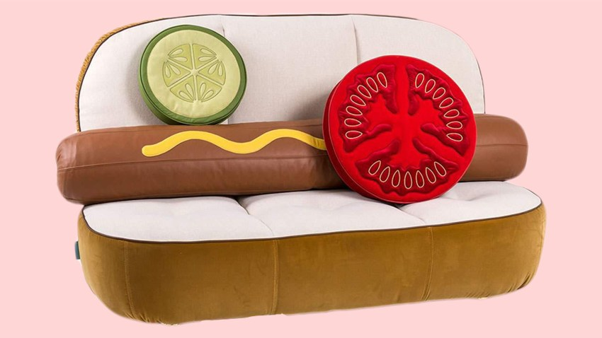 neiman marcus hot dog couch