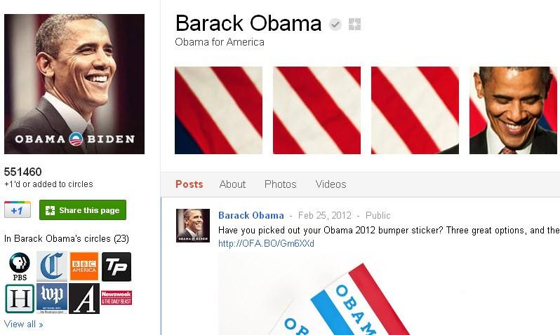 obama.google.plus