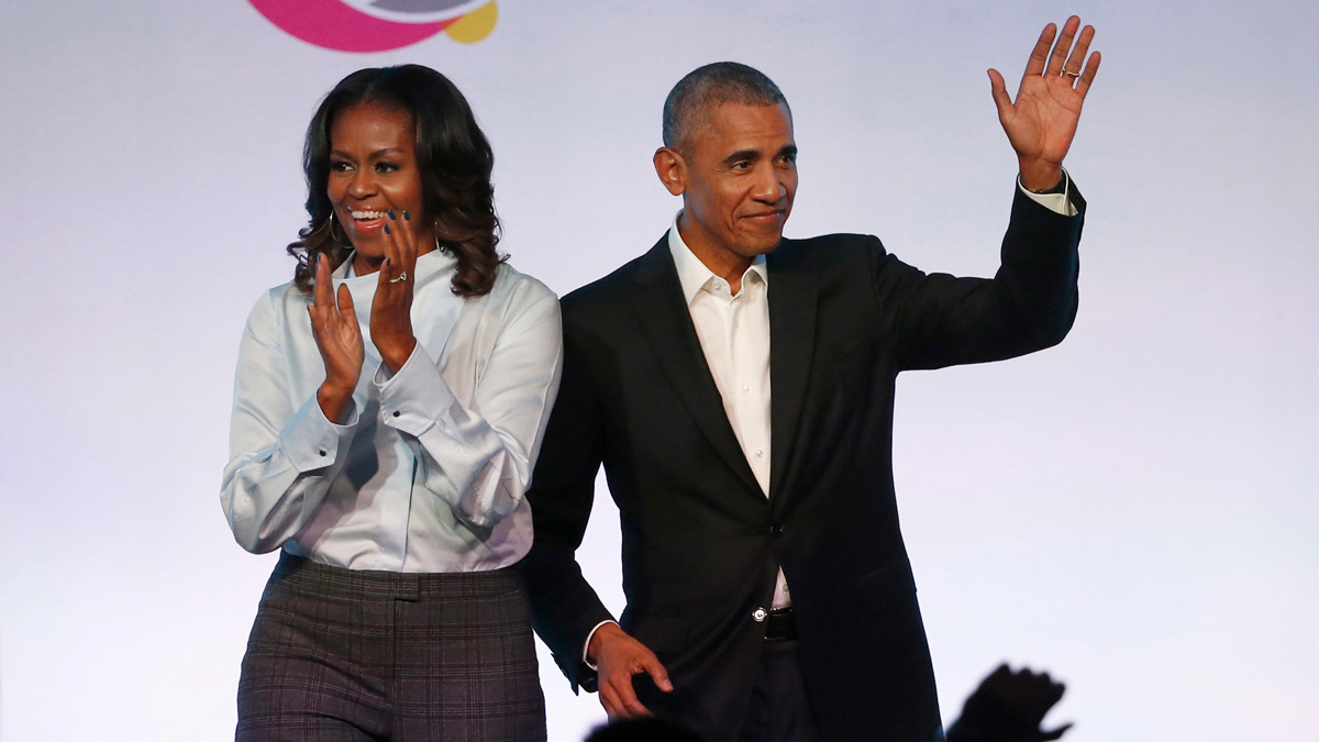 The Obamas Deliver Speeches During YouTube Virtual Ceremony 1