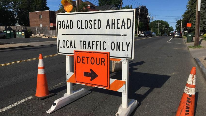 park road project detour 071519