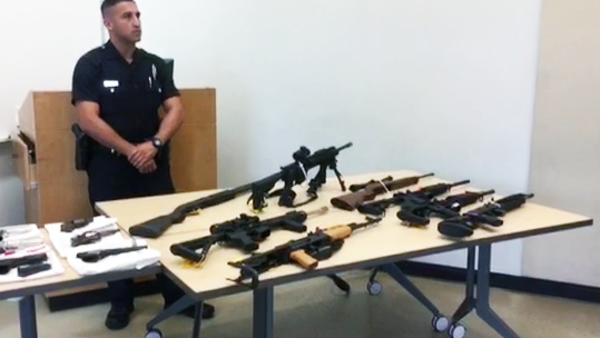 Alleged Mexican Mafia Gang Members Charged With Weapons