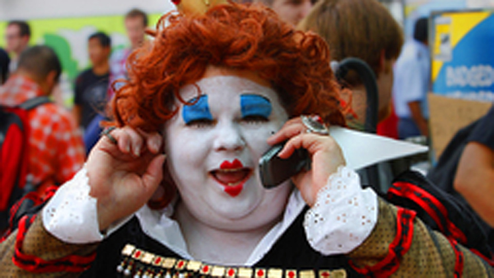Cell Phone Generic (but a clown)