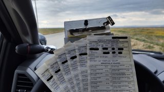tickets issued at Antelope Valley California Poppy Reserve