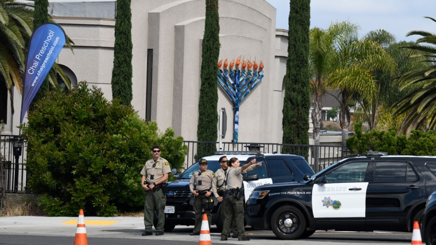 Synagogue Shooting California