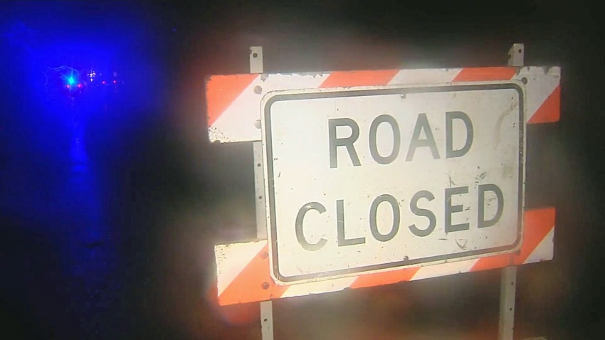 road closed napa