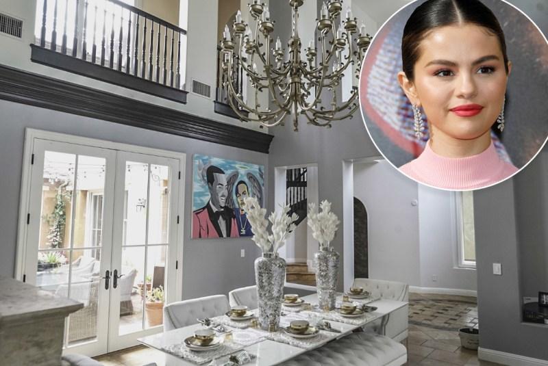 Selena Gomez's Former Mansion Goes Back on the Market for $6.6M