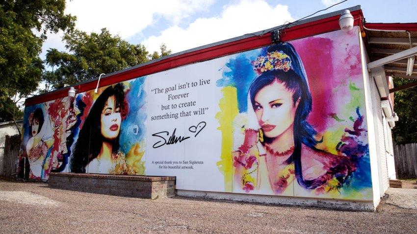 Selena Mural in Corpus Christi