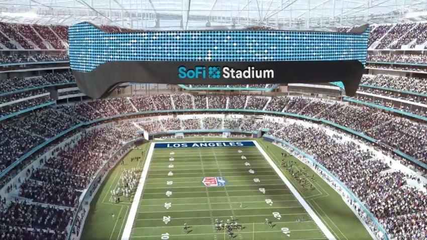 Drawing of SoFi Stadium