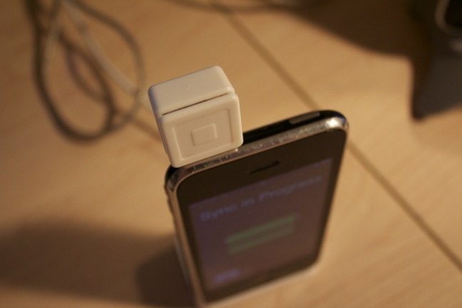 Square Reader + iPhone 3G