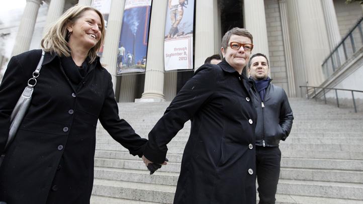 APTOPIX Supreme Court Gay Marriage