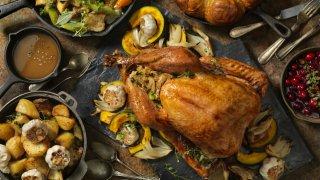 thanksgiving dinner getty