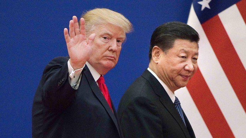 Trump y Xi Jimping