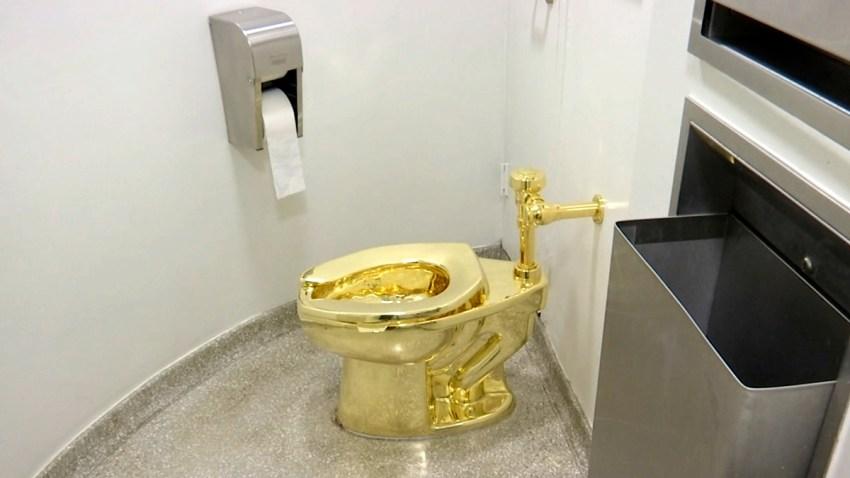 Britain Gold Toilet Theft