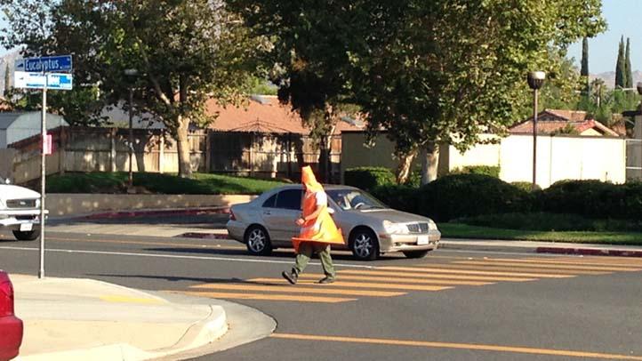 traffic cone cop