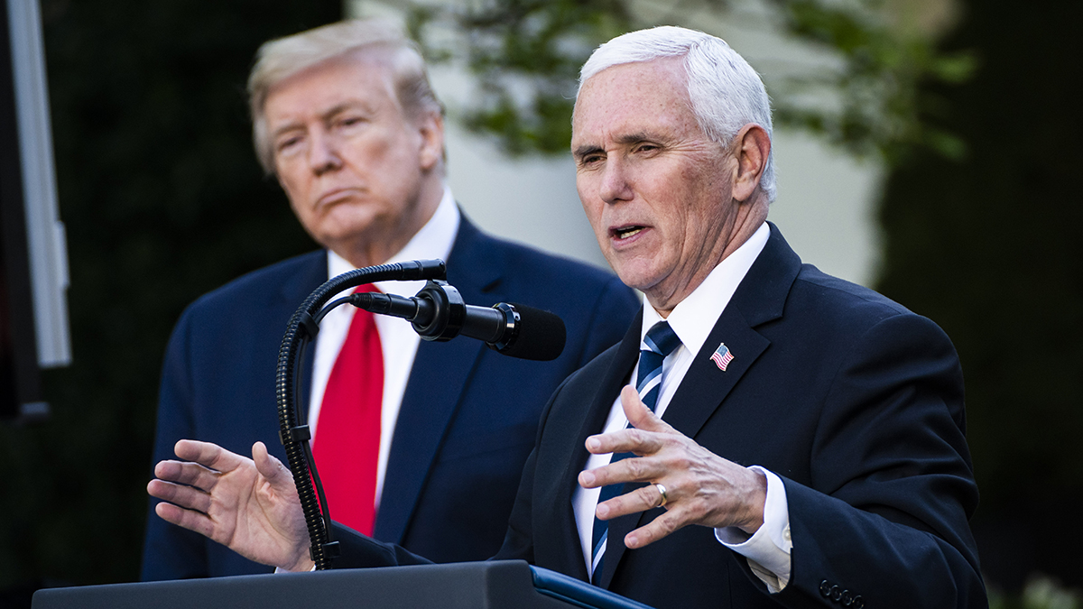 Pence Told 'to Be on Standby' for Trump Hospital Visit, Book Claims 1