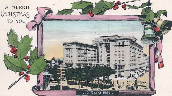 usgrantxmaspostcard