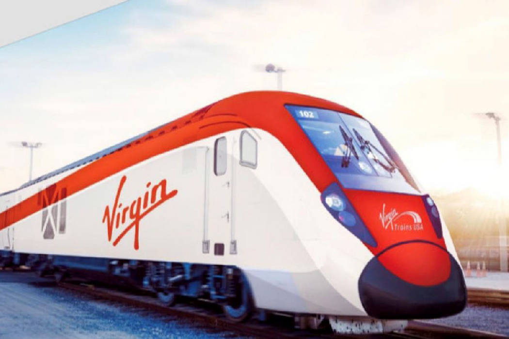 Virgin Trains Plans New Station South of Las Vegas Strip
